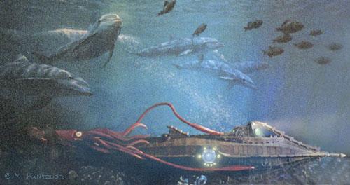 Squid for 20000 Leagues Under the Sea Nautilus Subs. Please wait